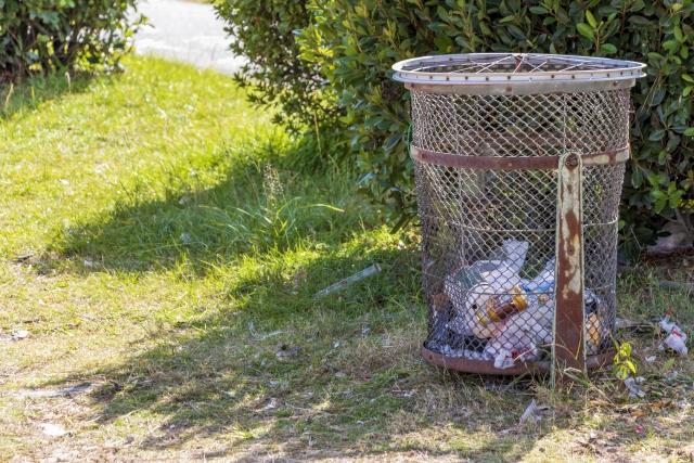 中古パチスロ機をゴミ捨て場に捨てるのは違法
